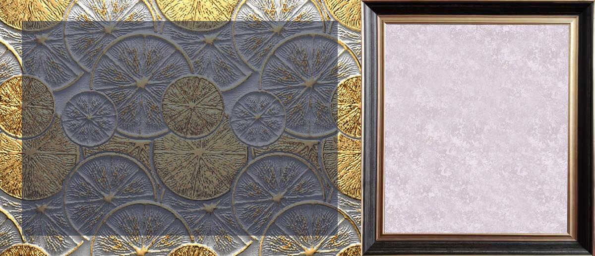 卡百利藝術涂料3D銀箔